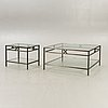 Englesson, coffee table plus side table, 2000s.