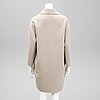 Prada, a wool and angora coat, italian size 42.