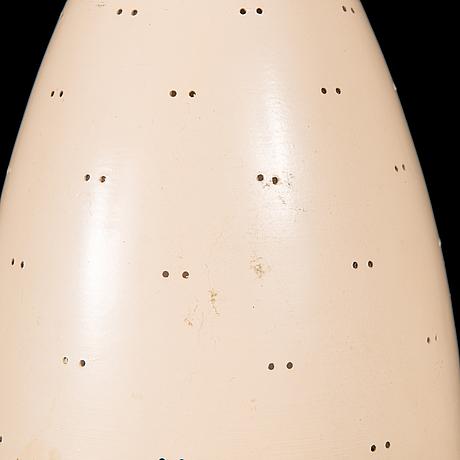 Paavo tynell, a mid-20th century 'j1979' pendant light for idman.