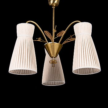 Paavo Tynell, A mid-20th century 'K1-9/K' ceiling light for Idman.