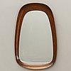 Mirror, g&t (glass & wood), 1960s.