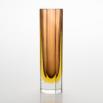A 1960/1970's Murano Sommerso vase.