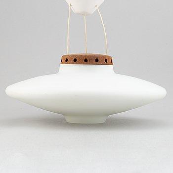 Uno & Östen Kristiansson, a 1960's 'Ufo' model 565 ceiling light, Luxus.