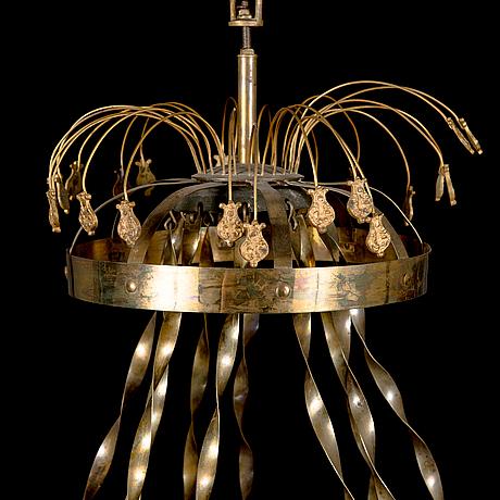 Ljuskrona, 1800-talets slut.