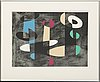 Pierre olofsson, lithograph in colours signed and numbered 34/43.