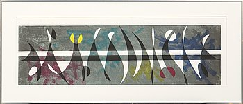 Pierre Olofsson, lithogaph in colours signed and numbered 162/258.