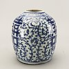 A chinese 19th century porcelain urn.
