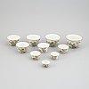 Skålar, 10 stycken, porslin. kina, tidigt 1900-tal.