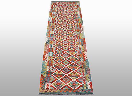 A runner, kilim, ca  508 x 82 cm.