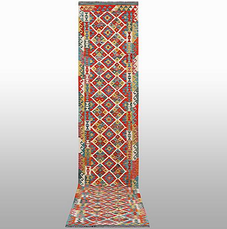 A runner, kilim, ca 513 x 83 cm.
