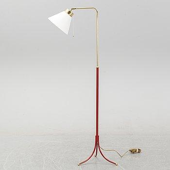 Josef Frank, a model 1842 brass floor light for Firma Svenskt Tenn.