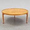 Josef frank, a model '2139' coffee table for firma svenskt tenn, designed 1952.
