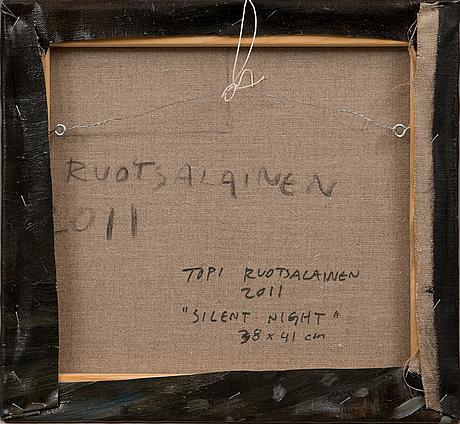 """Topi ruotsalainen, """"silent night""""."""
