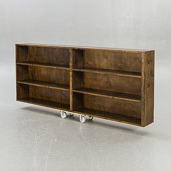 Bookshelf, Art-deco style, mid-20th century.