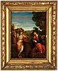 Okänd konstnär, 1700-tal, olja på pannå.