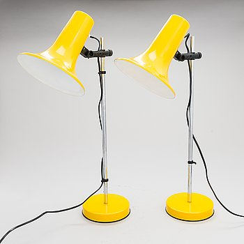 A pair of 1960/70's table lamps for Aris Arisuo.