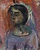 Eemu myntti, oil on canvas, unsigned.
