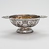 A late 19th-century silver bowl, maker's mark van der beek, the hague, dutch pseudo marks. british import marks 1900.