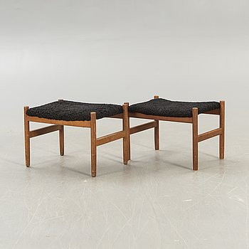Pallets, a pair, Denmark, second half of the 20th century.