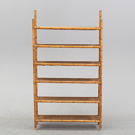 A colonial style bookcase, first half of the 20th century.