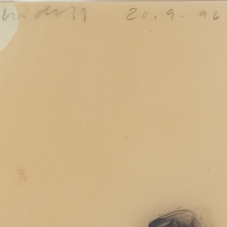 Anders widoff, oil on melitrace, signed and dated -96.
