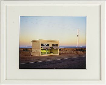 Rob Hann, inkjet print, signed and dated a tergo 2006.