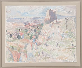 Erik Granfelt, oil on canvas, signed and dated -64.