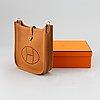 Hermès, an 'evelyn' leather handbag.