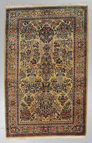 A rug, old tabriz, ca 210 x 134 cm.