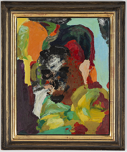 Rolf hanson, oil on canvas/panel, signed and dated -87-94 verso.