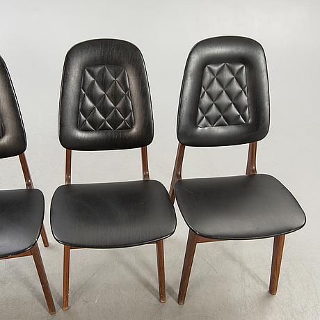Chairs, 4 pcs, 1960s.