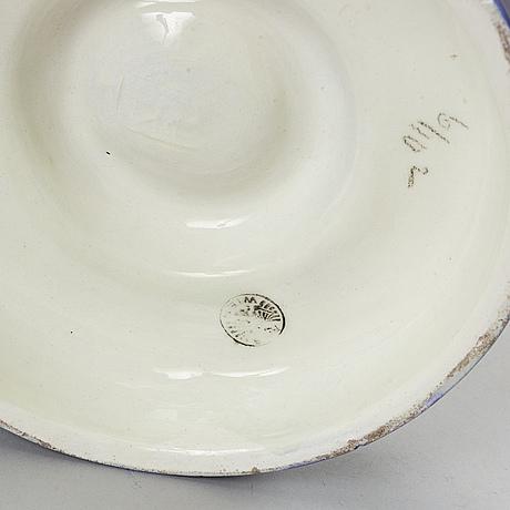 An ceramic tazza, vienna, austris, 1910's/20's.