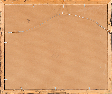 Carl august ehrensvärd, väitetty, punainen liitu ja laveeraus paperille. signeerattu ja numeroitu no 255.