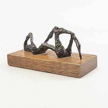 Arne Jones, a signed and numbered bronze sculpture.