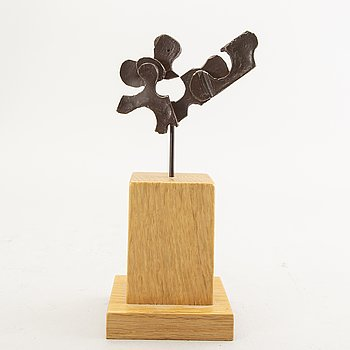 Martin Holmgren, a signed and numbered bronze sculpture.