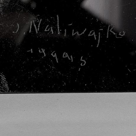 Jan naliwajko, a plexi glass wall sculpture, signed and dated 1999.