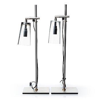 A pair of 'Manhattan' lamps by Gunnel Svensson, Bsweden.