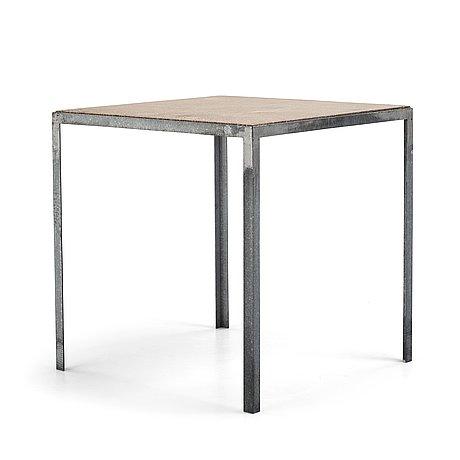 Stina lindholm, a contemporary garden table, 'n–table', skulpturfabriken.