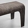 Stina lindholm, 'nona', concrete bench, skulpturfabriken.