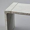 Stina lindholm, 'arkad', a concrete bench, skulpturfabriken.
