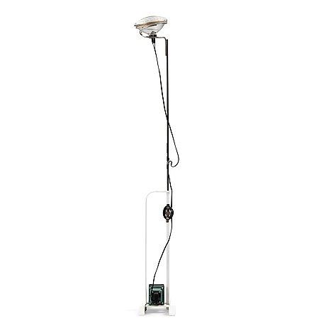 Achille & pier giacomo castiglioni, floor lamp, 'toio', flos.