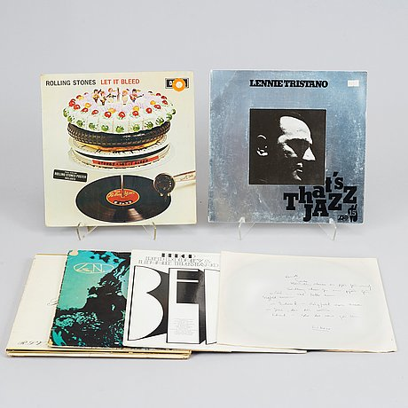 The complete music collection of lars norén, circa 480 pieces.