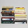 Lars noréns collection of literature about martin heidegger, 31 volumes.