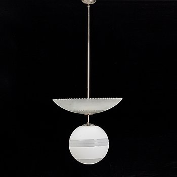 A ceiling lamp 1930/40s.