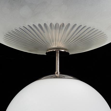 Taklampa, funkis, 1930-40-tal.
