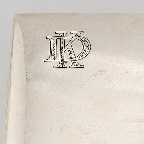 Karl anderson, skrin, silver, stockholm, 1916.