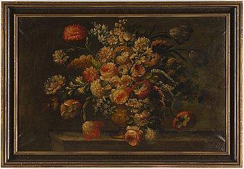 Unknown Danish artist, in the style of Johan Laurentz Jensen, oil on canvas.