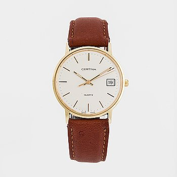 Certina, wristwatch, 33,5 mm.