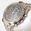 "Omega, speedmaster, day-date, ""tachymetre"", wristwatch, 39 mm."