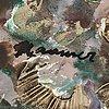 Eerik haamer, oil on canvas, signed haamer.